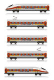ekspresowy intercity Fotografia Stock