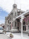ekspresowy Istanbul Orient staci pociąg zdjęcie royalty free