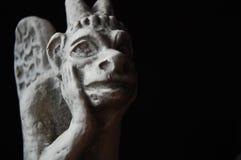 ekspresyjna rzeźba Obrazy Royalty Free