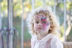ekspresyjny dziecko portret obraz royalty free