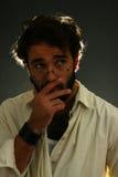 ekspresyjny mężczyzna zdjęcie stock