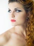 ekspresyjny makeup obrazy royalty free