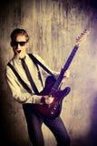 ekspresyjny muzyk zdjęcie royalty free