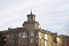 Ekspresyjny stary budynek obrazy royalty free