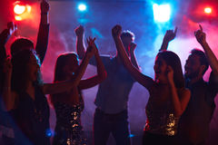 Ekstatyczny taniec obrazy royalty free