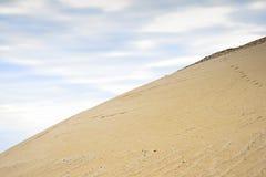 Ekstrakcja piasek, piasek jama z wodą Zdjęcie Royalty Free