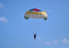 ekstrakcyjny spadochron Fotografia Royalty Free