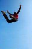 ekstremalne skok Zdjęcia Royalty Free