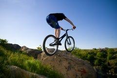 ekstremalne sztuczka roweru Zdjęcie Stock