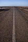 Ekstremum pustynna droga Zdjęcia Stock