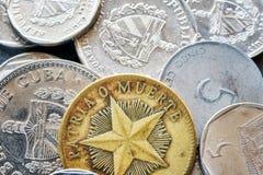Ekstremum zamknięty up obrazek Kubański peso zdjęcie royalty free