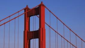 Ekstremum zamknięty w górę niecki północny pilon Golden gate bridge zbiory wideo