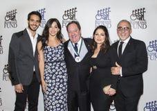Ektor Rivera, Ana Villafane, James Λ Nederlander, Gloria Estefan & Emilio Estefan Στοκ Εικόνες