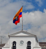 Ekuadorianische Flagge Lizenzfreie Stockbilder