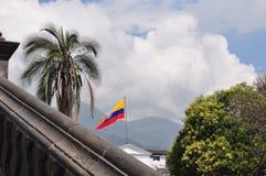 Ekuadorianische Flagge Lizenzfreies Stockfoto