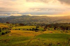 Ekuadorianisches Dorf stockfotografie