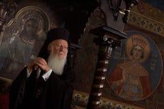 Ekumeniczny Patriarszy Bartholomew Fotografia Stock