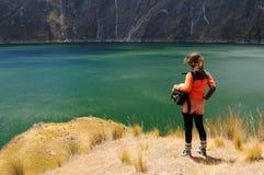 Ekwador krajobraz Zdjęcia Stock