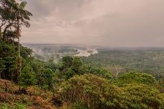 Ekwadorska część Amazonian basen Zdjęcia Royalty Free