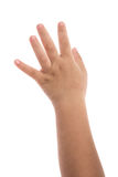 Ekzem auf der Hand des Babys Lizenzfreie Stockbilder