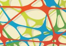 Elástico abstrato da rede Imagens de Stock