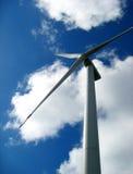 Eléctrico-generación del molino de viento Imagen de archivo libre de regalías