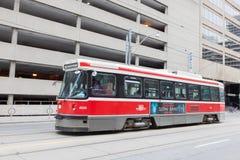 Elétrico retro em Toronto Foto de Stock Royalty Free