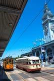 Elétricos em San Francisco Imagem de Stock Royalty Free