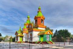 Elías la catedral del profeta Imágenes de archivo libres de regalías