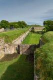 Elżbietański, ramparts Berwick na tweed, Northumberland zdjęcie stock