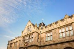 Elżbietański Targowy Hall w Shrewsbury, Anglia Zdjęcia Royalty Free