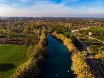 El凝块 河在布里亚纳 r 免版税库存照片