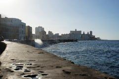 el哈瓦那malecon 库存图片