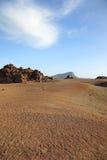 el国家公园teide tenerife 图库摄影