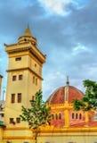El土侯清真寺在康斯坦丁,阿尔及利亚 免版税库存照片