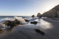 El斗牛士国家海滩马利布加利福尼亚 库存照片