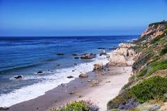 El斗牛士海滩加利福尼亚 免版税库存照片