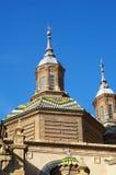 El毛发的大教堂,萨瓦格萨,西班牙 免版税库存图片