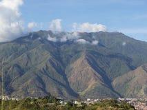 El阿维拉Waraira Repano国家公园山在加拉加斯委内瑞拉 免版税库存图片