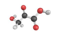 El ácido de Hydroxypyruvic es un derivado ácido pirúvico con el formul imagen de archivo libre de regalías