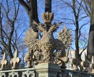 El águila doble-dirigida Imagen de archivo libre de regalías