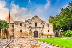 El Álamo en San Antonio Imagen de archivo