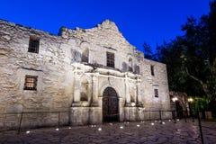 El Álamo histórico, San Antonio, Tejas fotografía de archivo