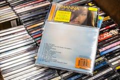 El álbum del CD de Craig David la historia va 2005 en la exhibición en venta, cantante inglés famoso, compositor, golpeador foto de archivo libre de regalías