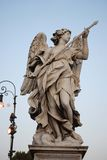 El ángel de la lanza Fotos de archivo libres de regalías