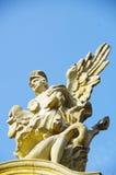 El ángel de oro Fotos de archivo