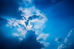 El ángel del cielo Fotos de archivo