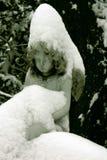 El ángel del invierno Imagen de archivo