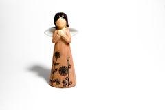 El ángel del littie Foto de archivo