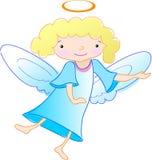 El ángel quiere introduce algo stock de ilustración